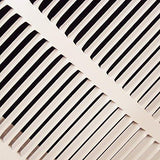 36 x 24 Steel Return Air Filter Grilles - Fixed Hinged - Cieling Recomended - White-Kitchen-HVAC Premium-Helmetdon