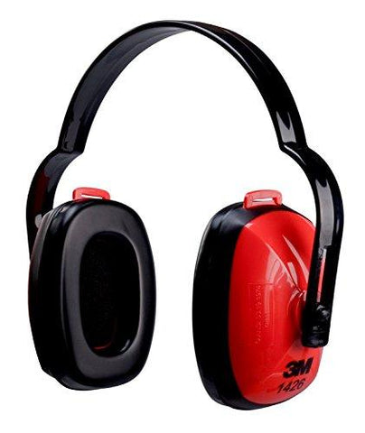 3M 1426 Multi Position Earmuff (Noise Reduction Rating: 21 Decibel)-3M-Helmetdon