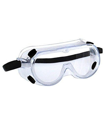 3M 1621 Polycarbonate Safety Goggles for Chemical Splash, Pack of 1,Clear-3M-Helmetdon