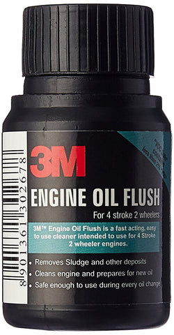 3M 2wh Engine Oil Flush (50 ml)-car care-3M-Helmetdon