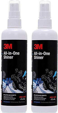 3M All-in-One Shiner, 500 ml (250 ml x Pack of 2) IA260100374-Automotive Parts and Accessories-3M-Helmetdon