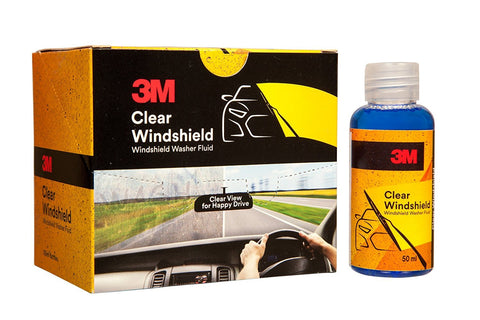 3M Clear Windshield 50 ml (Pack of 6)-car care-3M-Helmetdon