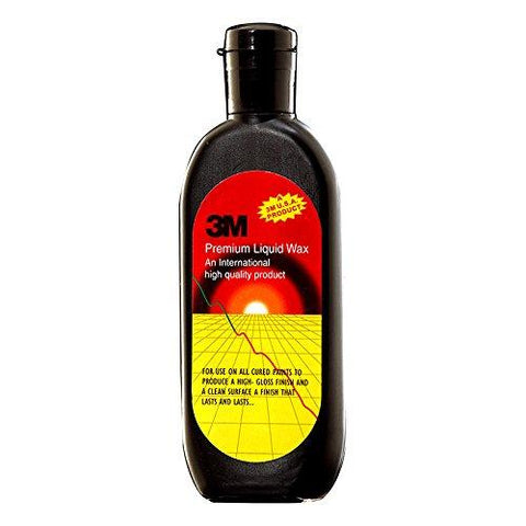 3M IA110117321 Premium Liquid Wax, 100 ml-car care-3M-Helmetdon