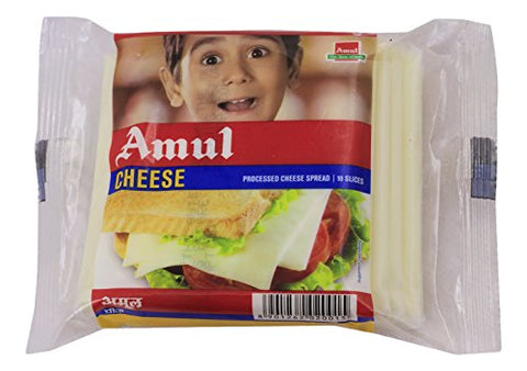 Amul Cheese - 10 Slices, 200g Pack