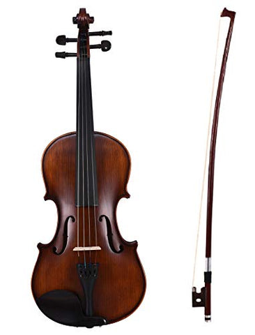 Arctic Apex Violin Kit -Solid wood Violin 4/4 with case, bow & Rosin