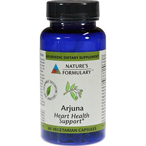 Natures Formulary Arjuna, 50 Vcap