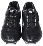 GBG Mens Force Football Studs Shoes -2751-Black-Silver- 9
