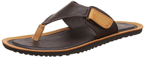 BATA Men's Ripley Thong Brown Hawaii Thong Sandals - 9 UK/India (43 EU)(8714129)