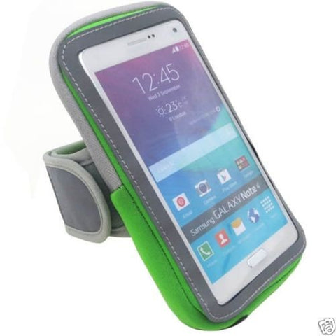 Sports Running Jogging Gym Armband Case Cover Holder Phone Holder (Green) 6 for iPhone