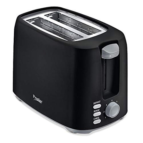 Prestige PPTPB 750-Watt Pop-up Toaster (Black)