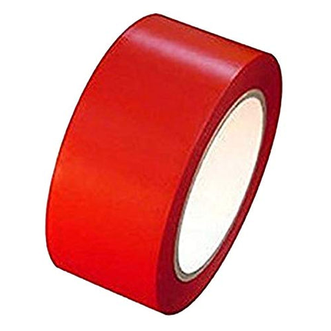 HHH 42micron Self Adhesive Packaging BOPP Tape 72mm x 40mtr Red Pack of 6 Bamboo.