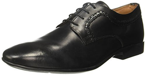 Arrow Men's Forks Black Leather Formal Shoes-8 UK/India (42 EU) (2521801205)