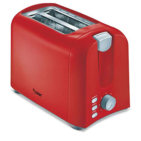 Prestige PPTPR 700-Watt Pop-up Toaster (Red)