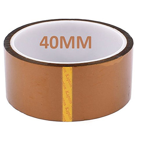 Buyyart 40mm 4cm 30M Kapton Tape High Temperature Heat Resistant Polyimide hhhh