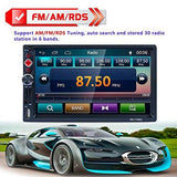 4.1inch Bluetooth MP5 Player Audio Stereo Car Remote Control FM Radio Player with Rear Camera with Steering wheel controls+Remote Control with Digital Touch Button-BESTVECH-Helmetdon