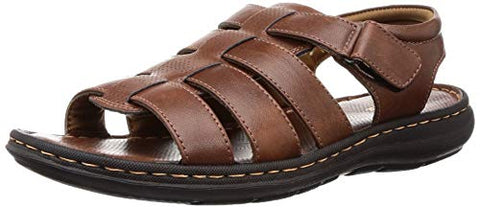 BATA Men's Nw Krypton Sd Brown Fisherman Sandals-10 (8614443)