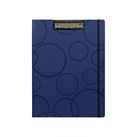 Callas PVC Clipboard with Cover (Size - A4 ; Color - Blue ; Pack of 2)