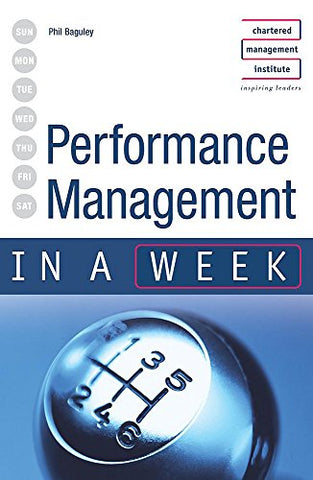 Performance Management in a week 2nd edition (IAW)