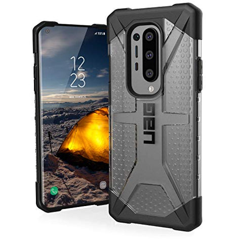 URBAN ARMOR GEAR UAG Designed for OnePlus 8 Pro Case [6.78-inch Screen] Plasma [Ice] Rugged Translucent Ultra-Thin Military Drop Tested Protective Cover