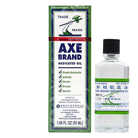 Axe Brand Medicated Oil by Solstice Medicine Co