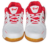 GBG Men`s Badminton Shoes 0751-White-Red-6