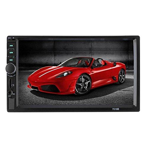 7in Screen Bluetooth Car Stereo Mp5 Audio Video Player Fm Radio Usb