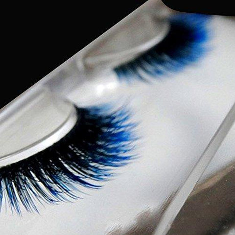 f3267bf329e A : 1 Pairs Dramatic Thick Long Curly False Eye Lashes Pure Hand-made Cross