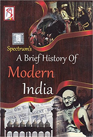 A Brief History Of Modern India-Books-UBSPD-Helmetdon