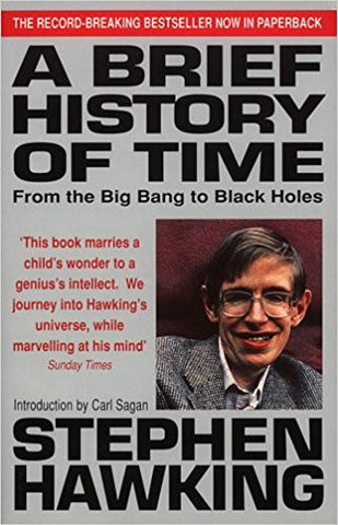 A Brief History Of Time: From Big Bang To Black Holes-Books-TBHPD-Helmetdon