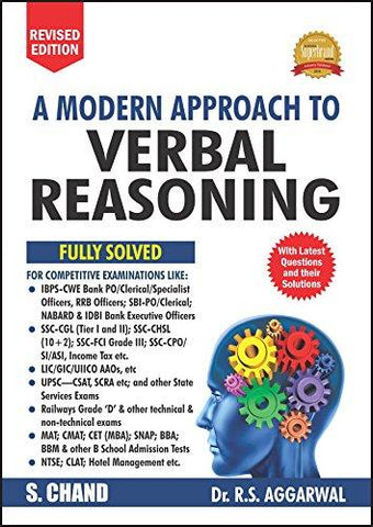 A Modern Approach to Verbal Reasoning (Old Edition) (R.S. Aggarwal)-Not Specified-Helmetdon