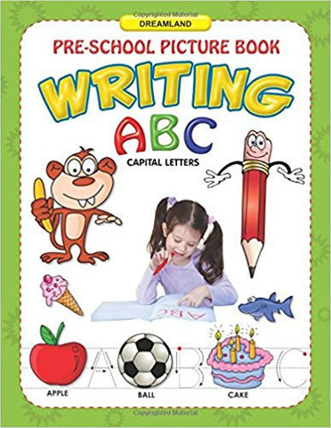 ABC Capital Letters Writing (Pre-School Picture Books)-Books-TBHPD-Helmetdon
