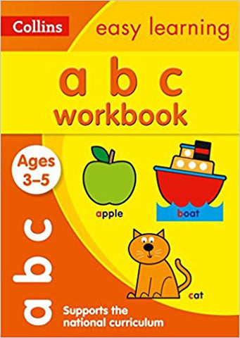 ABC Workbook Ages 3-5: Collins Easy Learning (Collins Easy Learning Preschool)-Books-TBHPD-Helmetdon