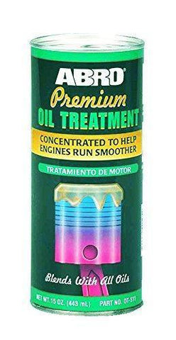 Abro OT-511-443 Oil Treatment (443 ml)-Car Care-ABRO-Helmetdon