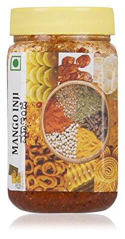 Ace Iyengar Home Products Mango Inji Pickles (300 g)-Grocery-Ace Iyengar Home Products-Helmetdon