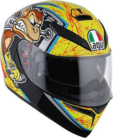 AGV K3 SV Bulega Motorcycle Helmet Size Medium-Large - DOT-Approved-Helmets-AGV-Helmetdon