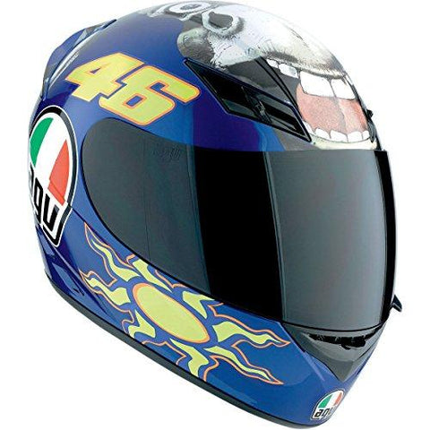 AGV K3 The Donkey Full Face Motorcycle Helmet (Multicolor, Small)-Automotive Parts and Accessories-AGV-Helmetdon