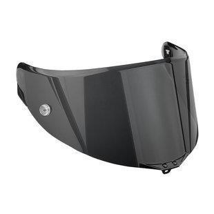 AGV Pista/Corsa SR Adult Helmet Shield/Visor, Race Dark Smoke, One Size-Helmet Accessories-AGV-Helmetdon