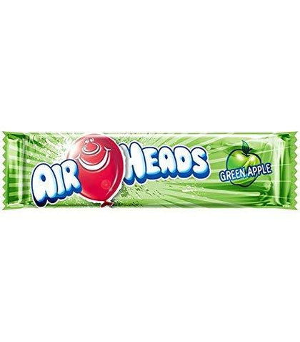 Air Heads Green Apple Candy (Pack of 5), 16g and One Silver Plated Coin-Grocery-Airheads-Helmetdon