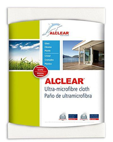 Alclear 950002 Ultra-Microfiber Window Cloth and Clear Water (White)-Alclear-Helmetdon