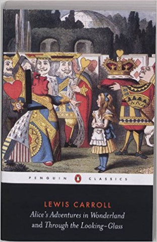 Alice's Adventures in Wonderland and Through the Looking Glass (Penguin Classics)-Books-TBHPD-Helmetdon