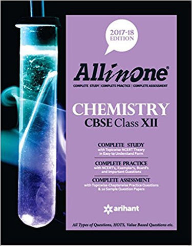All-in-One Chemistry CBSE Class for 12 (2017-18)-Books-TBHPD-Helmetdon