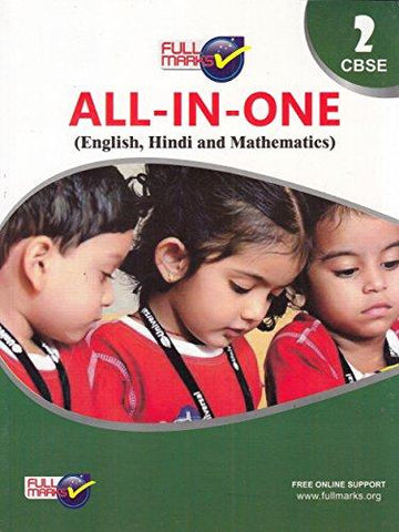 All In One Class 2 CBSE (English, Hindi and Mathematics) (2018-19)-Full Marks Private Limited-Helmetdon
