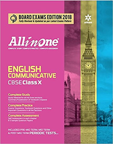 All in One English Communicative CBSE Class 10th-Books-TBHPD-Helmetdon