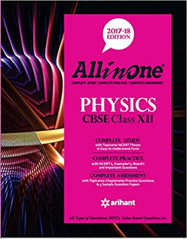 All in One Physics CBSE Class 12-Books-TBHPD-Helmetdon