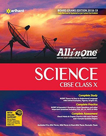 All In One Science - Class 10 (2018-19 Session)-Arihant Publications-Helmetdon