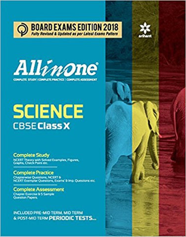 All in One Science for Class 10-Books-TBHPD-Helmetdon