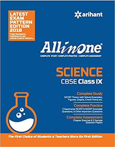 All in One Science for Class 9-Books-TBHPD-Helmetdon