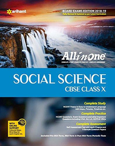 All In One Social Science - Class 10 (2018-19 Session)-Arihant-Helmetdon
