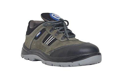 Allen Cooper 1156 Men's Safety Shoe, Size-8 UK, Gray-Allen Cooper-Helmetdon