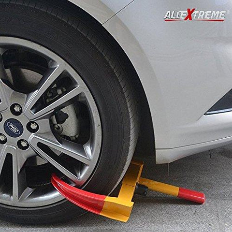 AllExtreme Heavy Duty Anti Theft Wheel Lock Clamp Anti-Theft Towing Parking Boot Tire Claw